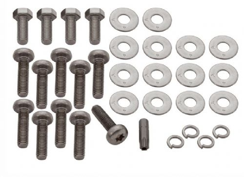 Stainless Steel Rear Crossmember Fixing Kit - DA4795